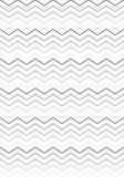 Zwarte & White Stripes-patroon royalty-vrije illustratie