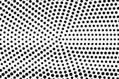 Zwarte witte dunne langzaam verdwenen gestippelde gradiënt Halftintachtergrond vector illustratie