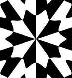 Zwarte witte samenvatting vector illustratie