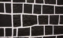 Zwarte Witte Vierkante Muur Mexico Royalty-vrije Stock Foto