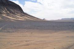 Zwarte Woestijn Stock Fotografie