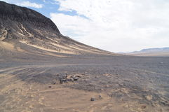 Zwarte Woestijn Royalty-vrije Stock Fotografie