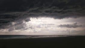 Zwarte wolken Royalty-vrije Stock Afbeelding