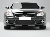 Zwarte zaken-Klasse Auto Royalty-vrije Stock Foto's