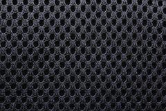 Zwarte zaktextuur. Stock Afbeeldingen