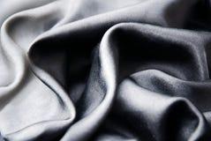 Zwarte zijde Stock Afbeeldingen