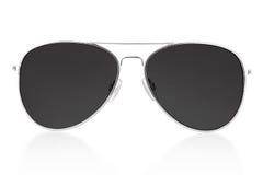 Zwarte zonnebril Stock Foto's