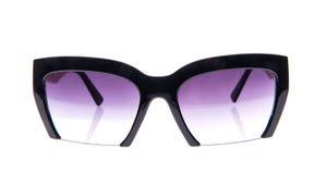 Zwarte zonnebril Royalty-vrije Stock Foto's