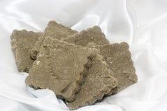 Zwavel van de Biolagical de naar huis gemaakte zeep Royalty-vrije Stock Foto