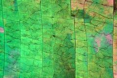 Zwavelkristallen onder de microscoop Royalty-vrije Stock Foto's