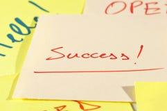 Zweck ist Erfolg Lizenzfreies Stockfoto