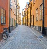 Zweden. Stockholm. Gamla Stan. Stock Foto
