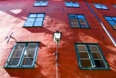 Zweden. Stockholm. Gamla Stan. royalty-vrije stock foto's
