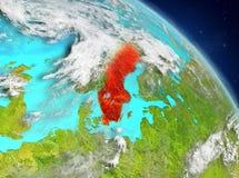 Zweden van baan vector illustratie