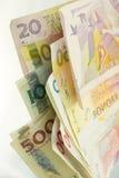 Zweeds geld Stock Fotografie