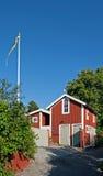 Zweeds Huis Royalty-vrije Stock Fotografie