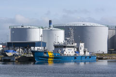 Zweeds Kustwacht multifunctioneel schip stock afbeeldingen