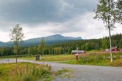Zweeds landschap Royalty-vrije Stock Afbeelding