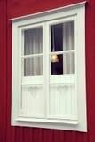 Zweeds venster, Zweden Royalty-vrije Stock Afbeelding
