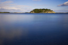 Zweedse archipel Stock Foto's