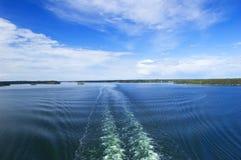 Zweedse archipel royalty-vrije stock afbeeldingen
