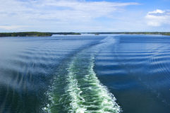Zweedse archipel royalty-vrije stock foto