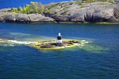 Zweedse archipel Royalty-vrije Stock Foto's