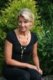 Zweedse blonde Stock Foto