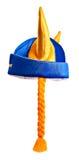 Zweedse hoed, die op wit wordt geïsoleerd Stock Afbeeldingen