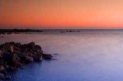 Zweedse kustlijn Stock Afbeeldingen