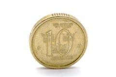 Zweedse munt - 10 Kronor Stock Afbeeldingen