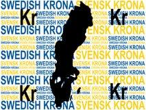 Zweedse munt Royalty-vrije Stock Afbeeldingen
