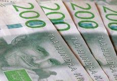 Zweedse munt 200 SEK, nieuwe lay-out 2015 Stock Fotografie