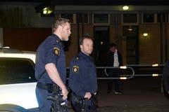 Zweedse politiemannen Royalty-vrije Stock Afbeelding