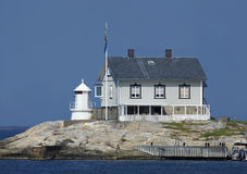 Zweedse Vuurtoren Royalty-vrije Stock Foto's