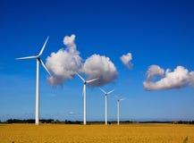 Zweedse windpower Stock Afbeeldingen