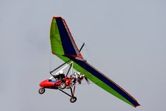Zweefvliegtuig Stock Afbeeldingen