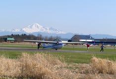 Zweefvliegtuig stock foto's