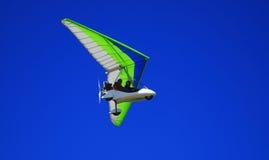 Zweefvliegtuig in de lucht Stock Afbeeldingen
