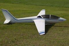 Zweefvliegtuig - ModelGlider - vlucht Royalty-vrije Stock Afbeelding