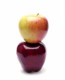 Zwei Äpfel Lizenzfreie Stockbilder