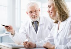 Zwei Ärzte Lizenzfreie Stockfotografie