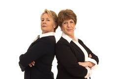 Zwei überzeugte Geschäftsfrauen Lizenzfreies Stockbild