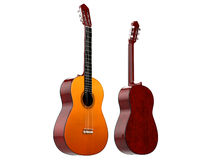 Zwei Akustikgitarren Lizenzfreie Stockbilder