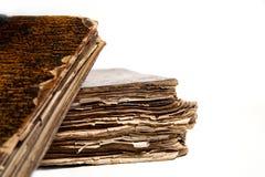 Zwei alte Bücher Lizenzfreie Stockfotos