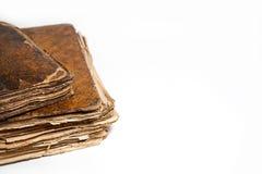 Zwei alte Bücher Lizenzfreies Stockbild