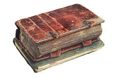 Zwei alte Bücher Lizenzfreies Stockfoto