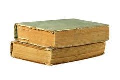 Zwei alte geschlossene Bücher Lizenzfreies Stockbild