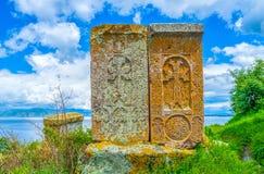 Zwei alte Steine Stockfotografie