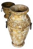 Zwei antike Vasen Lizenzfreie Stockfotografie